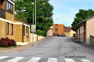 Långgatan i Ekenäs. OBS! Får användas endast i artiklar som berör fotograf Vidar Lindqvist.