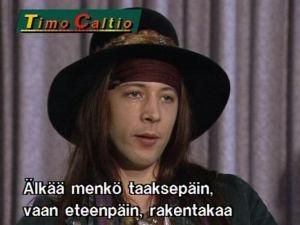 Cheap and Nasty -yhtyeen Timo Caltio vuonna 1991.
