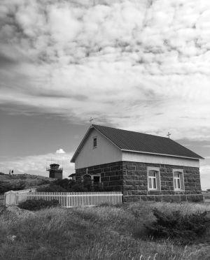 Utön rukoushuone kuvattuna kesällä 2016.