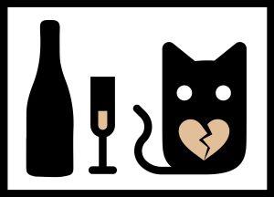 pullo, lasi, kissa, nettideitti, profiilikuva