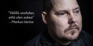 """""""Välillä unohdan, että olen sokea"""" - Markku Tallilan tarina."""