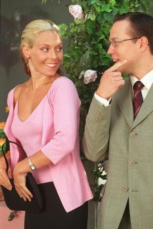 Ann-Marie (Eva Röse) ja Janne (Misa Nirhamo) vuonna 2001.