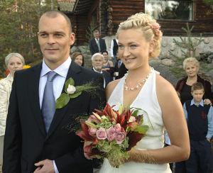 Teemu (Ville Keskilä) ja Niina (Ria Kataja) vuonna 2006.