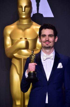 Damien Chazelle vann oscar för bästa regi på Oscarsgalan 2017.