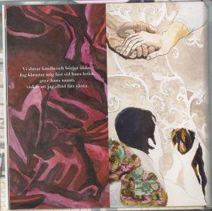 """Uppslag ur boken """"Alla bubblor brister"""" av Jolin Slotte och Nina Albrecht."""