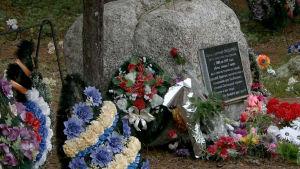 Muistokivi Sandarmohissa