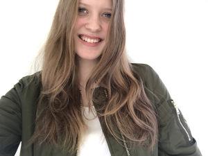 Sofia Östers selfie.