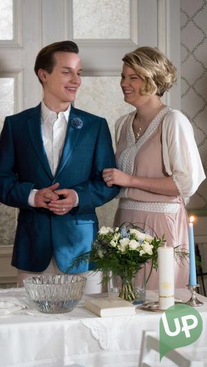 Kuvassa Vilma ja Jani. (Rosa Hautala ja Valtteri Lehtinen)