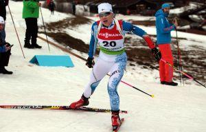 Jessika Rolig vid junior-VM i Slovakien.