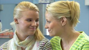 Vilma ja Minna.