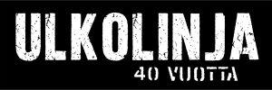Ulkolinjan 40 vuotta logo