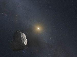 En asteroid i Kuiperbältet.