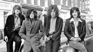 Rockgruppen Led Zeppelin