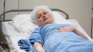 Marika sairaalassa