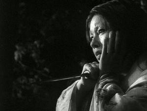 Machiko Kyo elokuvassa Rashomon - paholaisen portti