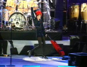 Lisa Stansfield esiintyy Freddie Mercuryn muistokonsertissa