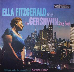 Ella Fitzgerald Sings the Gershwin Songbook. Skivomslag från 1959.