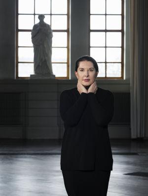 Marina Abramovićin muotokuva vuodelta 2017.