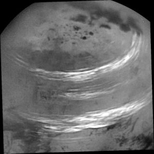 Saturnus måne Titan.