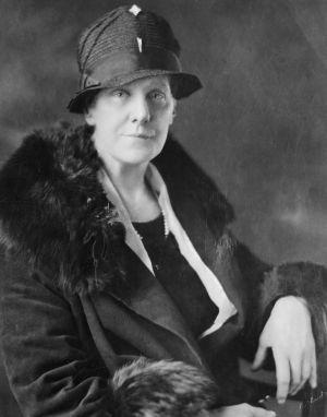 Anna Jarvis som anses ha skapat mors dag.