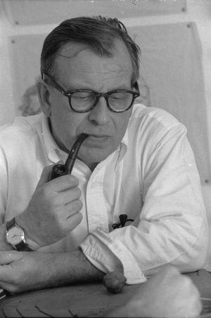 Arkitekten Eero Saarinen.