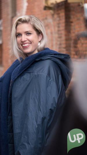 Kuvassa Krista Kortelainen (Thelma Siberg)