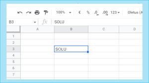 Excel kuva3- menolajien ja summien syöttäminen
