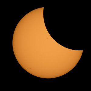Solförmörkelsen den 21 augusti 2017 i USA.