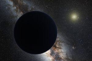 """Konstnärens uppfattning av den mystiska """"planet nio""""."""