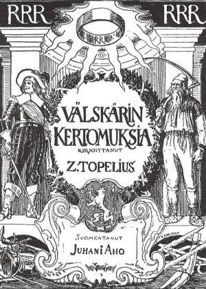 Albert Edelfeltin piirros Välskärin kertomuksia -kirjaan