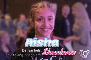 MGP dansaren Aisha