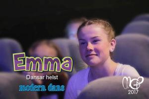 MGP dansaren Emma