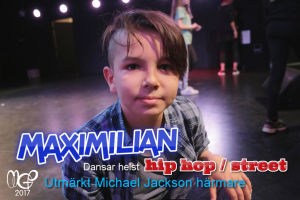 MGP dansaren Maximilian