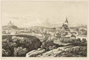 Turun keskusta ennen vuoden 1827 tulipaloa.