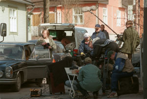 Raidin kuvauksissa (1999).
