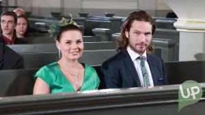 Vilman ja Janin häät. Elina ja Niklas kirkossa.