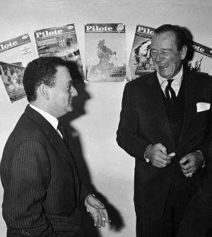 René Goscinny ja John Wayne (1960)