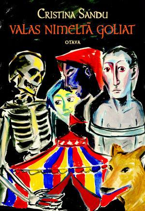 Pärmen till Cristina Sandus roman Valas nimeltä Goliat.