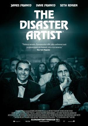 The Disaster Artist -elokuvan juliste.