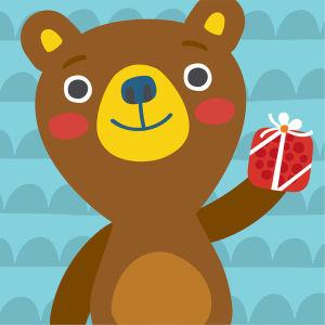 Pikku Kakkosen sovelluksen karhu