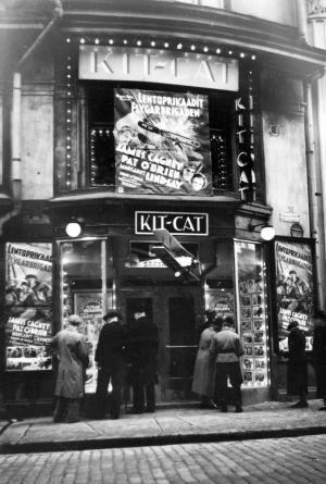 Elokuvateatteri Kit-Cat Helsingissä vuonna 1935