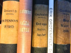 Böcker av Erik Grotenfelt.