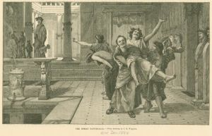 Saturnaliefirande romare.