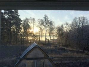 en soluppgång