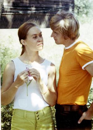 Marja Packalén ja Pertti Melasniemi elokuvassa Anna (1970).