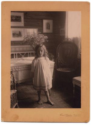 Katarina Sibelius noin 1908.