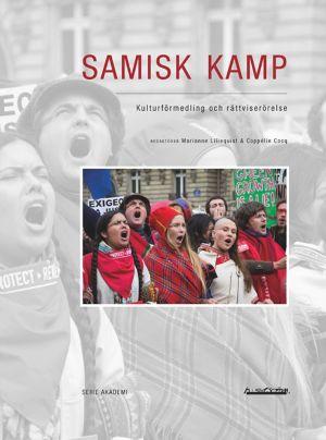 """Pärmen till boken """"Samisk kamp""""."""