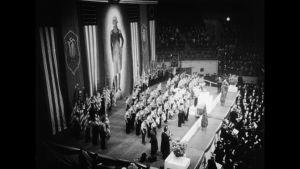 A Night at The Garden -elokuva on koostettu vuoden 1939 New Yorkissa järjestetystä natsomarssista.Courtesy of Sundance Institute | photo by Field of Vision.