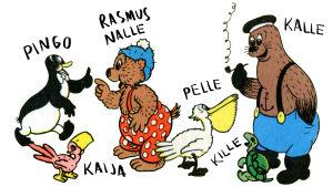 Rasmus Nallen hahmot