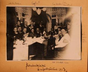 Joulun viettoa 1917.
